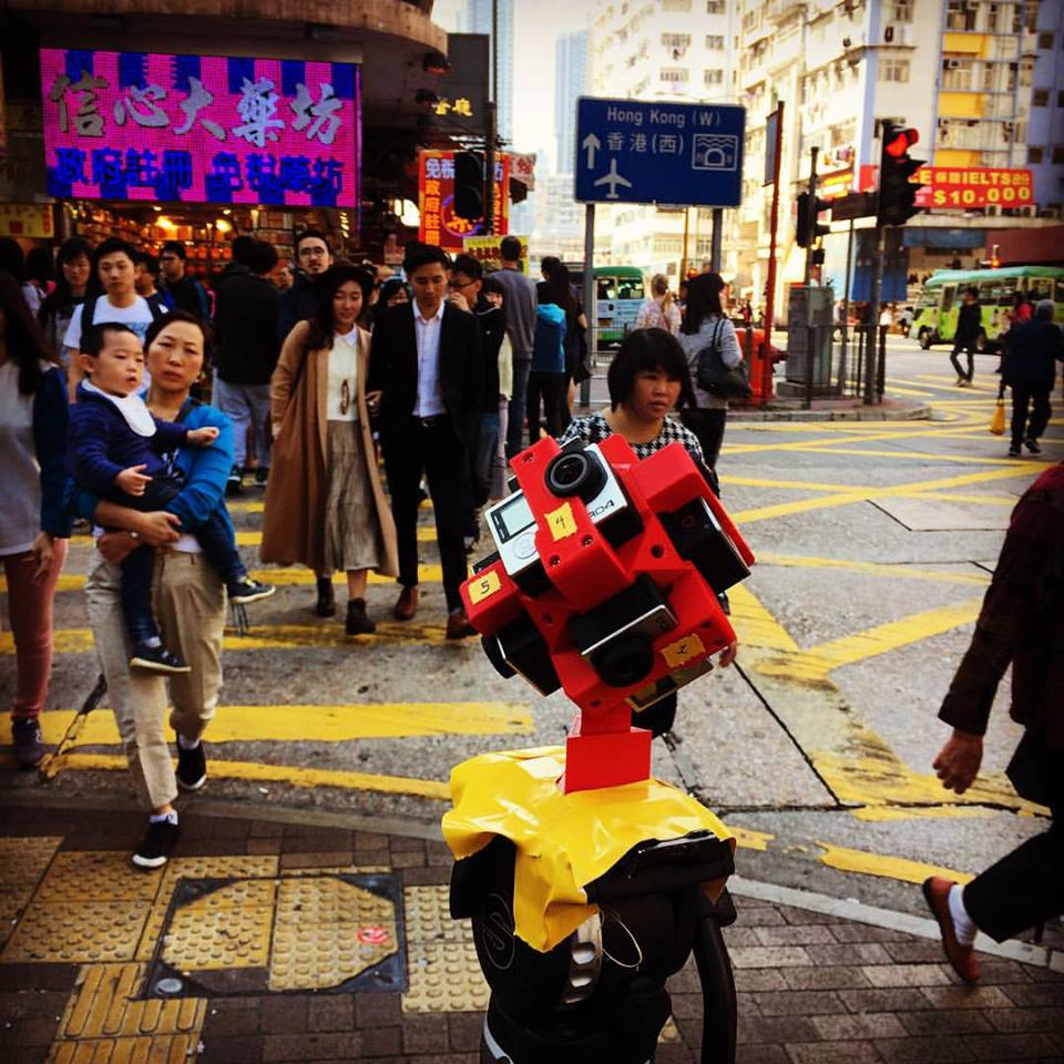 First shoot in Shanghai Street